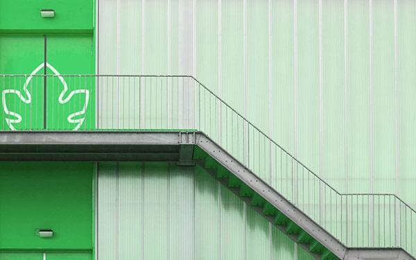 Company exterior design.