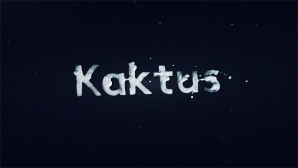 Kaktus im Weltraum, an analog video project by German motion designer Robin Albrecht.