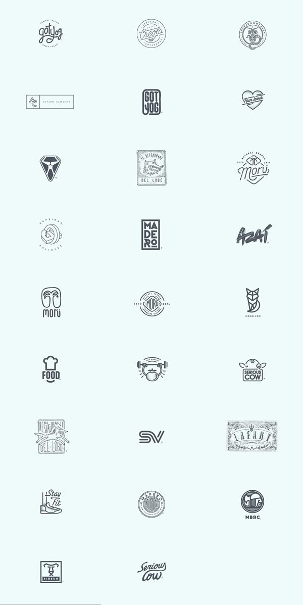 Logos by Oscar Bastidas