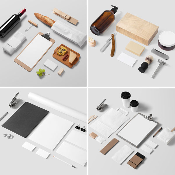 Branding Mockups Bundle With Over 250 Items