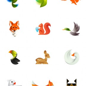 Colorful Animal Logos by Ivan Bobrov