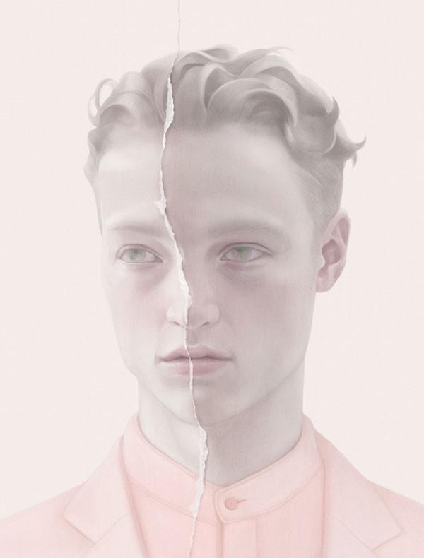 DANE - Male model portraiture.
