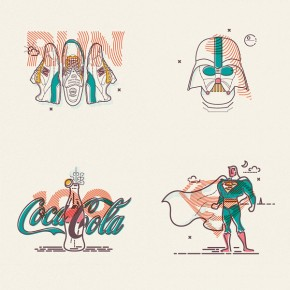 Line Illustrations by James Oconnell