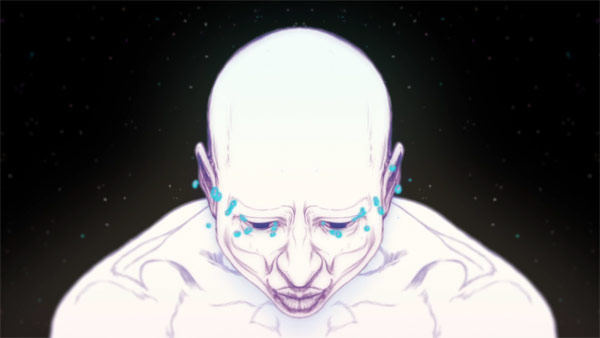 Still from the animated music video as a special episode of Off The Air.