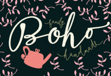 The Boho font family from Latinotype.