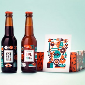 Anniversary Beer Packaging by Patswerk