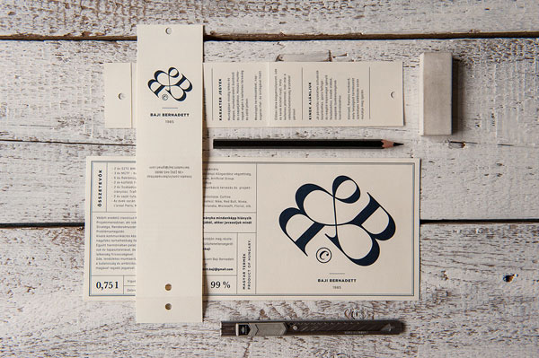 Bernadett Baji's wine label and CV by kissmiklos.