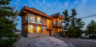 Holiday home in the Georgian Bay region of Ontario, Canada.