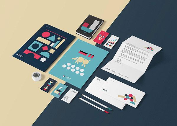Jæren Sparebank, a playful visual identity designed by freelance graphic designer Daniel Brokstad.