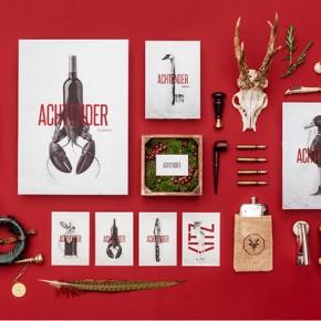 Achtender - Restaurant Branding by Hochburg