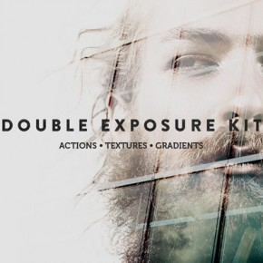 Double Exposure Kit for Adobe Photoshop