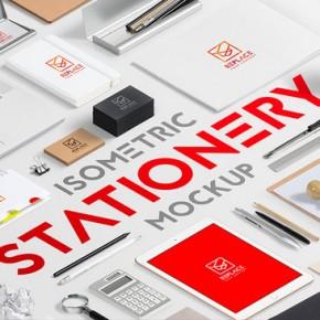 Isometric Stationery Mock Up Generator