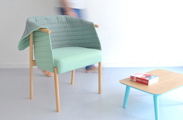 A beautiful chair created by Muka Design Lab.