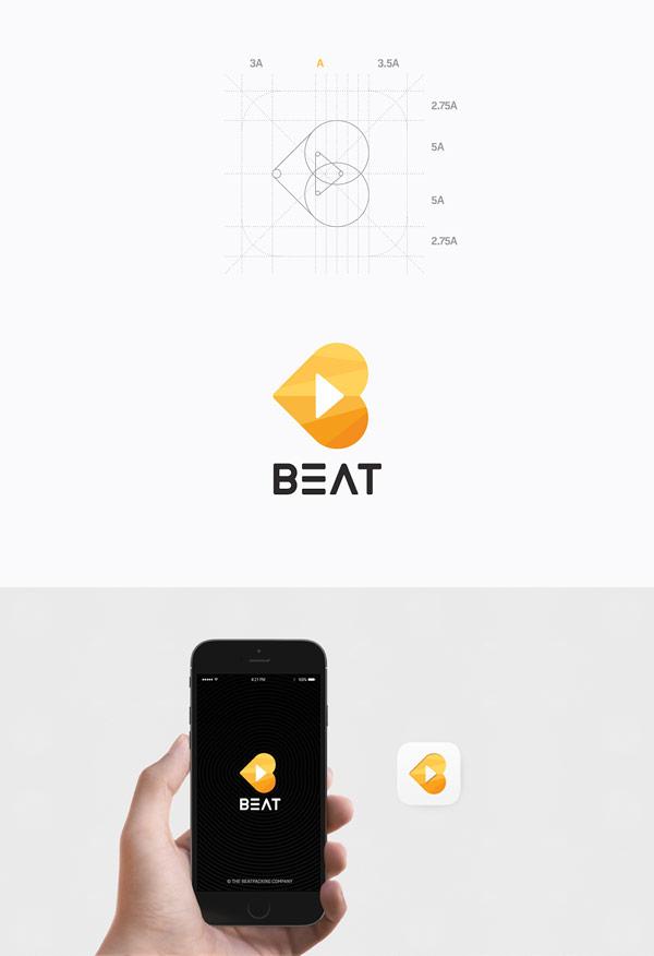Basic logo design for the app.