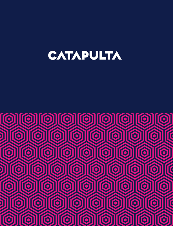Catapulta Fest logo and corporate colors.