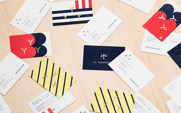 A bunch of Business cards.