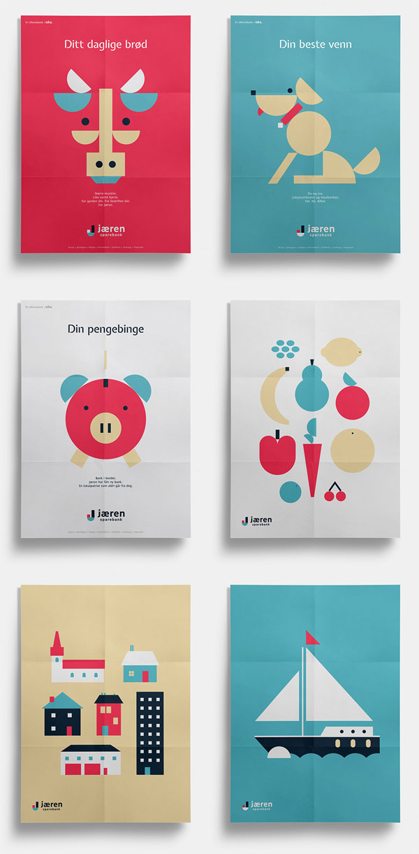 The Playful Brand Identity of the Jæren Sparebank