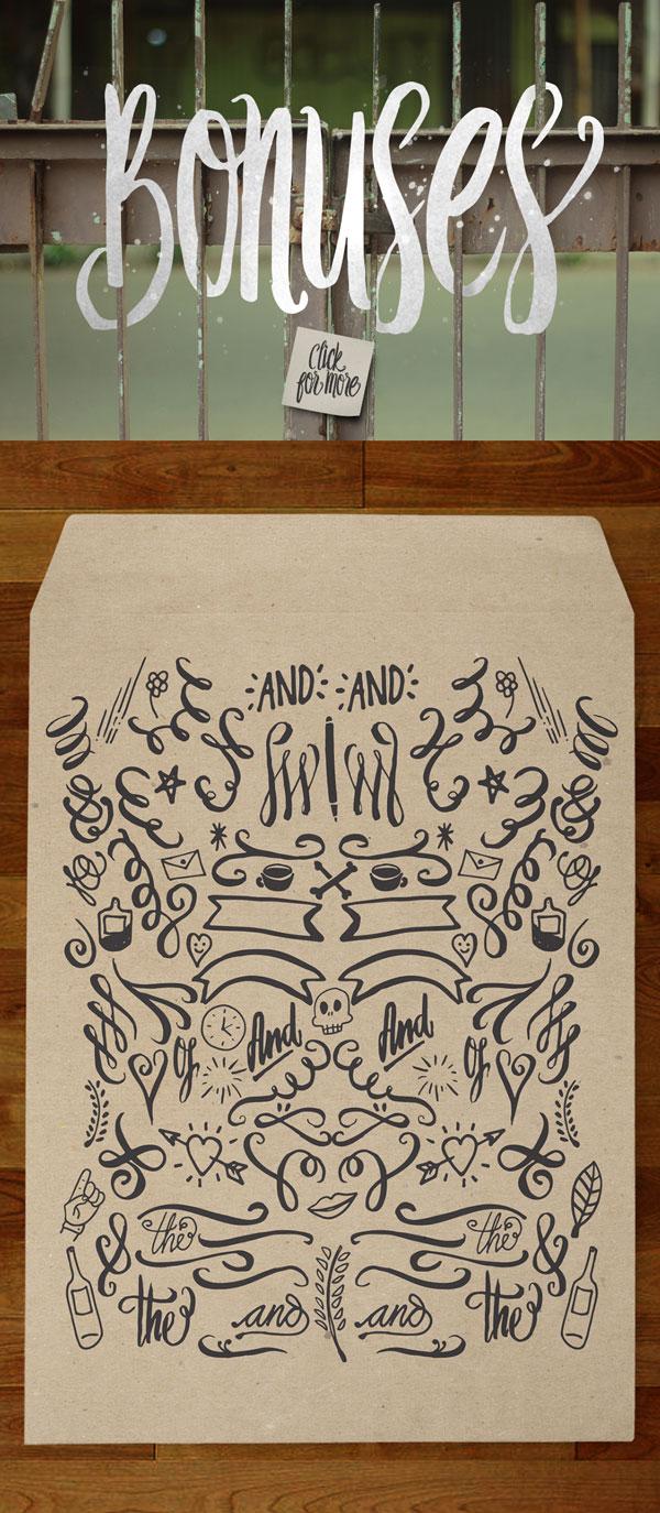 Loveton Typeface – Handmade Script Font