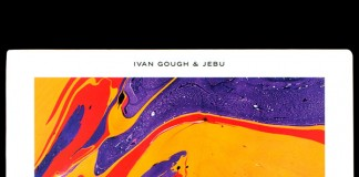 Colorful cover artwork for Ivan Gough and Jebu.