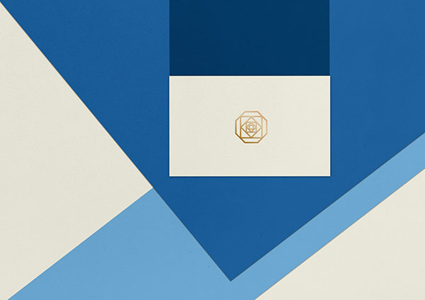 The complete identity is based on simplicity and clear graphic shapes.