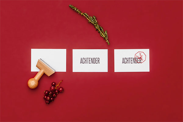 Restaurant business cards.