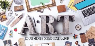 Art Equipments Scene Generator V4.