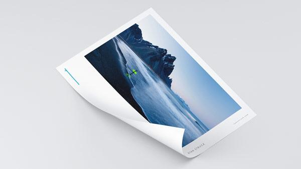 Brand imaging and print design.
