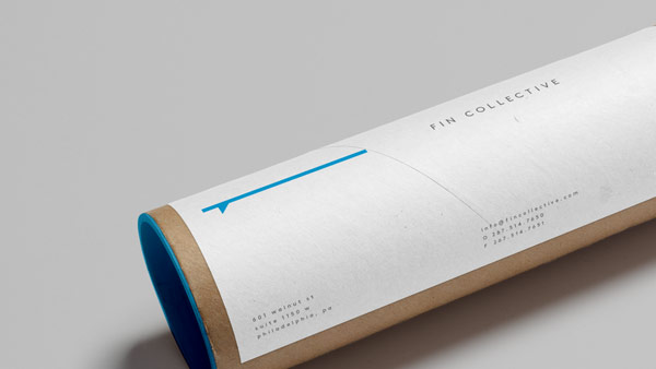 Branding for shipping materials.
