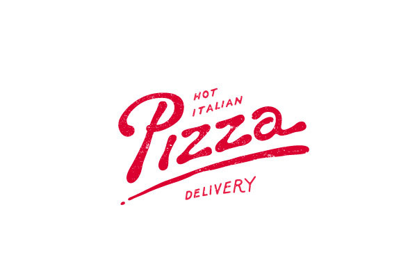 Pizza delivery (logo concept by Andrey Sharonov).
