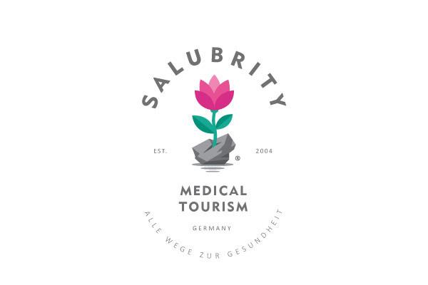 Salubrity medical tourism (logo concept).