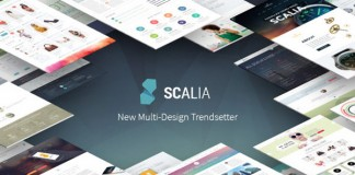 Scalia, a multi-design trendsetter Word Press theme from CodexThemes.