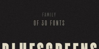TT Bluescreens font family by Ivan Gladkikh of TypeType.