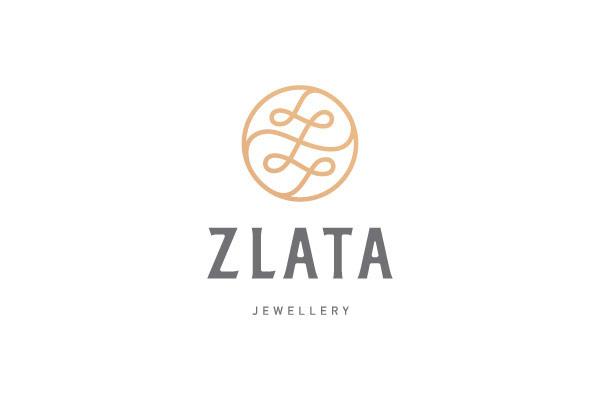 Zlata jewellery (Ukraine) - creative logos developed by Andrey Sharonov.