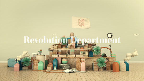 Beyond the city - promo video for Revolution Department.