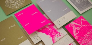 Some Other New Year - exhibition and accompanying calendar design by Ivorin Vrkaš for Corporeal Geometrics.