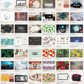 Creative Market's May 2015 Big Bundle of Graphic Products