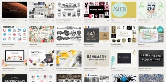 The May 2015 Big Bundle from Creative Market