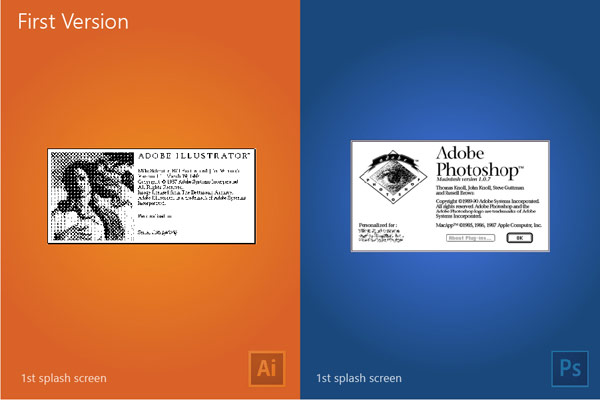 First versions of both applications.
