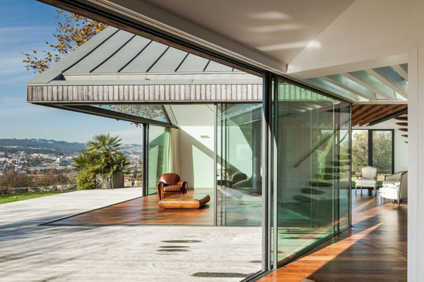 House of Four Houses in Portugal by PROD Arquitectura.