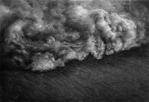 Charcoal Drawings 2014/2015 by Levi van Veluw