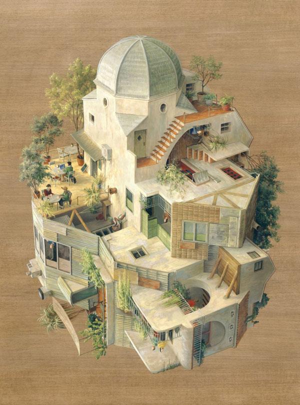 Dome - surreal art.