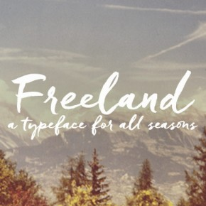 Freeland - Casual Brush Typeface by Laura Condouris