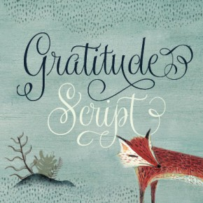 Gratitude Script Font from Sudtipos