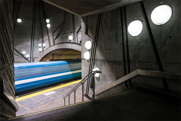 Image from the Montreal Metro Project by photographer Christopher Forsyth.