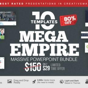 Mega Empire Powerpoint Templates Bundle
