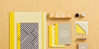 Office supplies designed by Allison Henry Aver for Kate Spade Saturday.