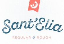 Sant'Elia Script from Yellow Design Studio.