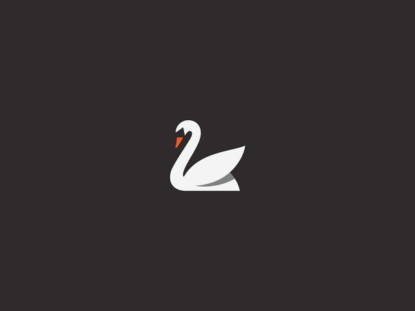 Swan graphic by George Bokhua.