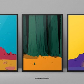 Space Question Prints by Aleksandar Papez