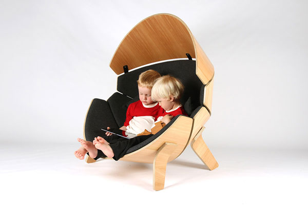 The Hideaway Chair for Childcare Company New Shoots